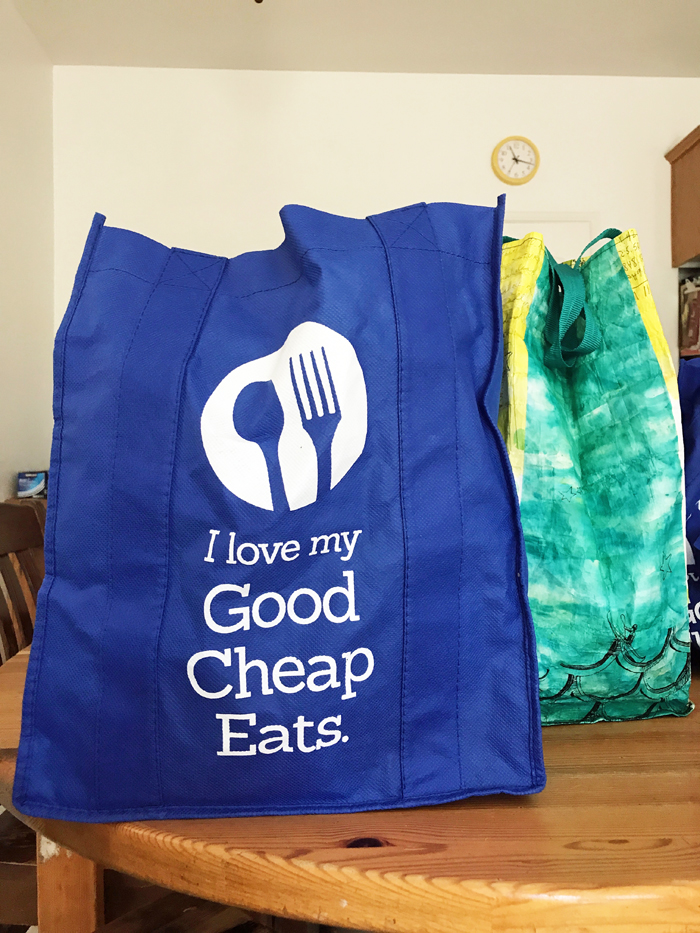 resuseable grocery bags