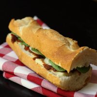 Cheese and Pickle Baguette Sandwich Recipe