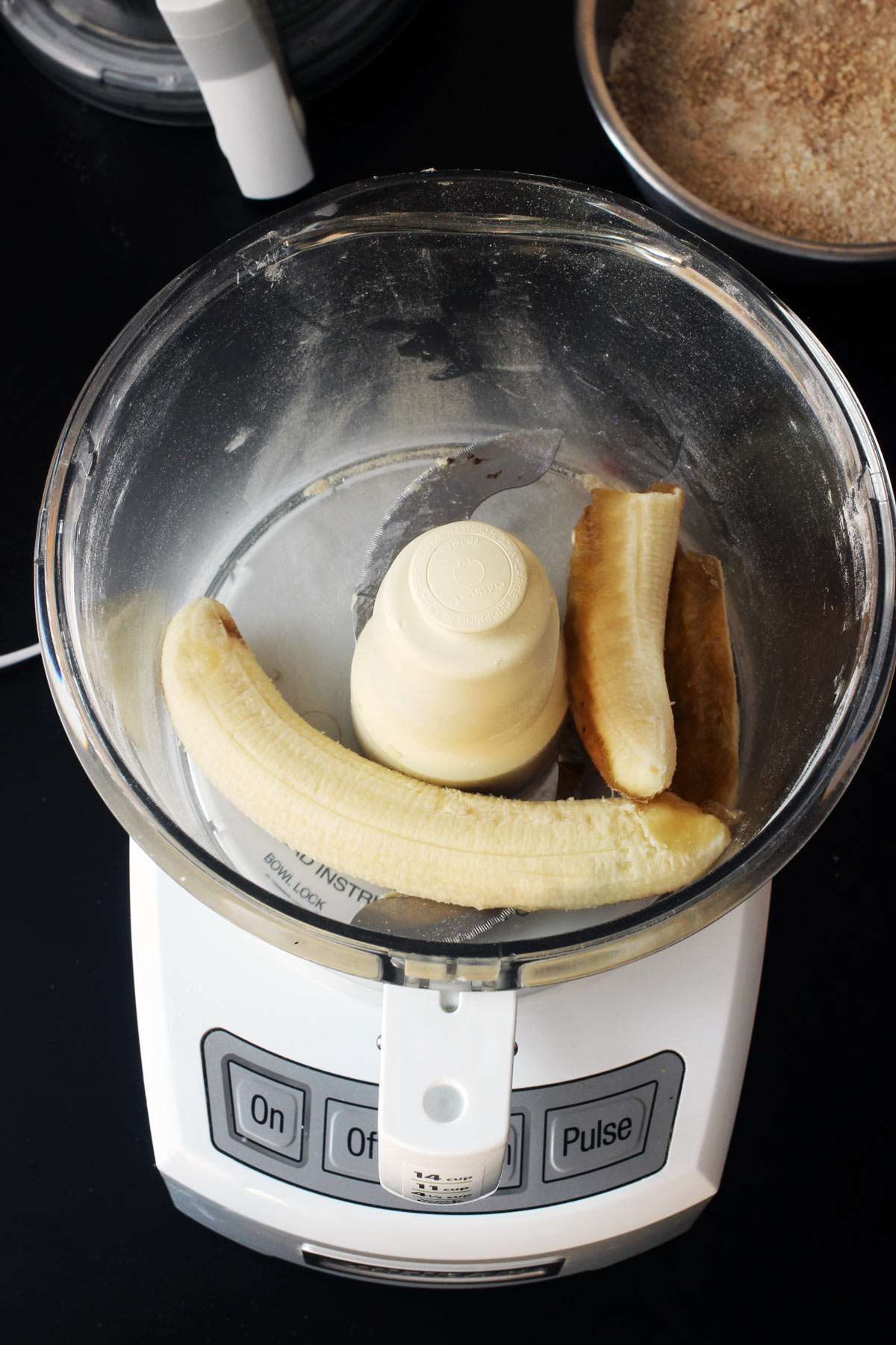 bananas in processor