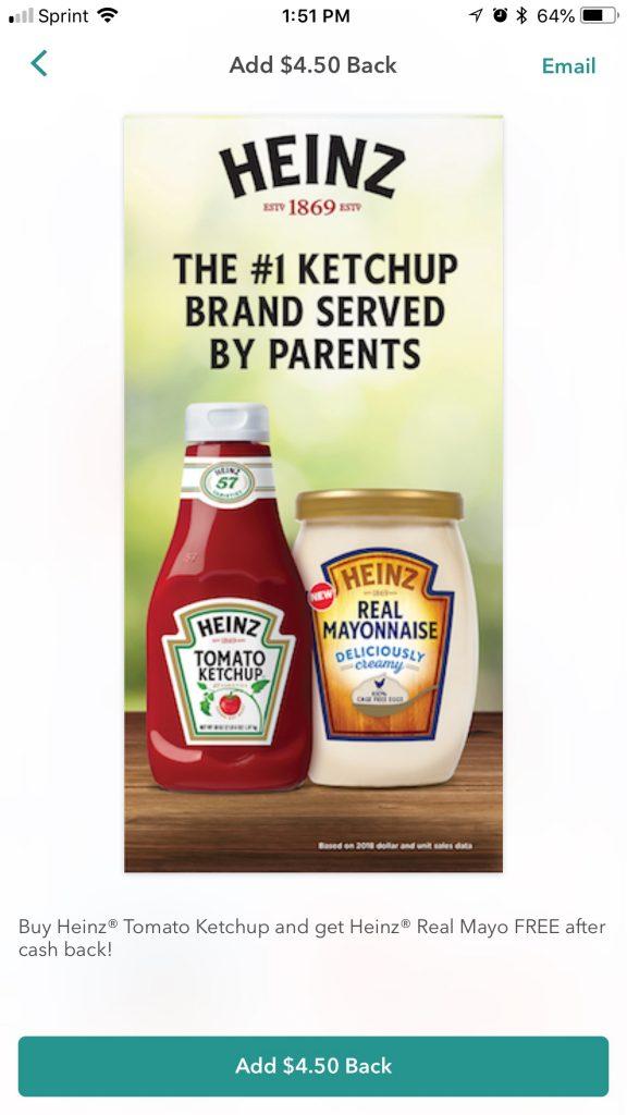 bottle of ketchup and jar of mayonnaise