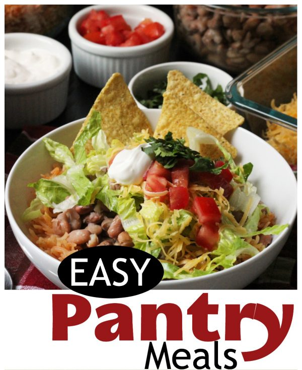 Easy Pantry Meals to Help You Save Money