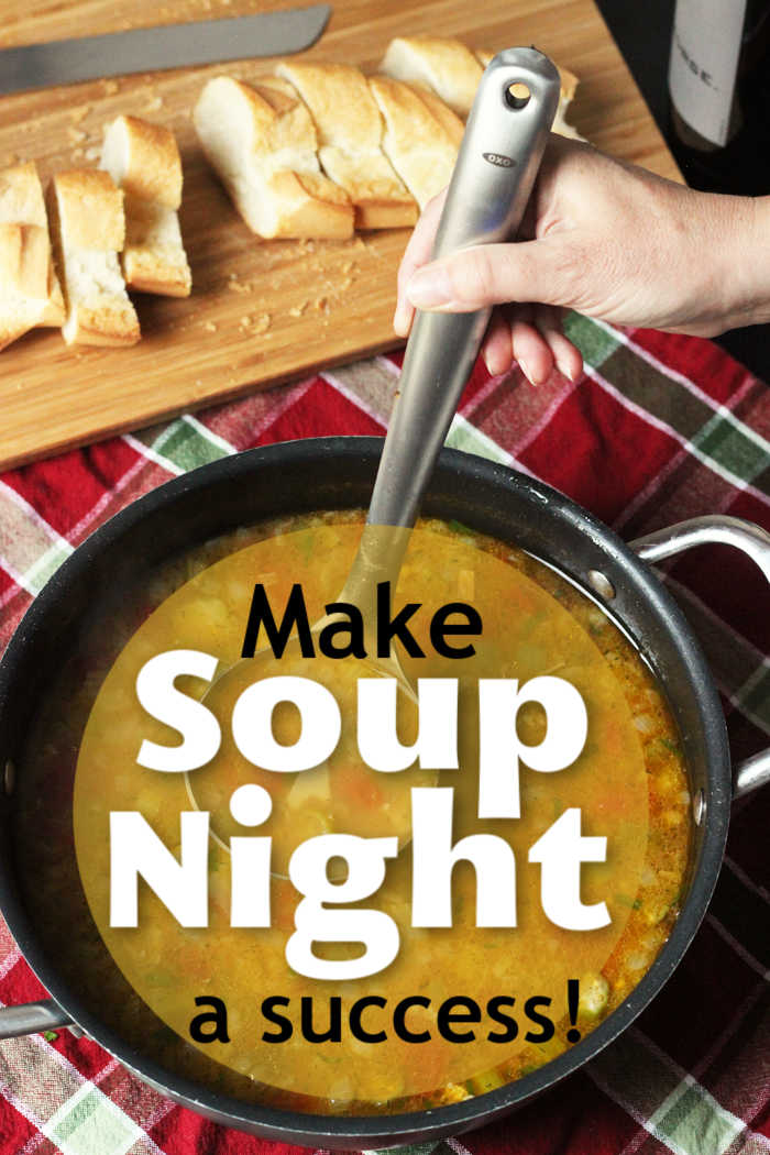 Make Soup Night a Success!