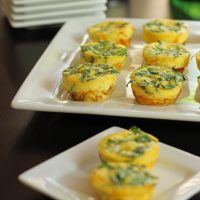 Bacon and Spinach Frittata Bites