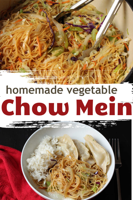 Homemade Vegetable Chow Mein | Good Cheap Eats