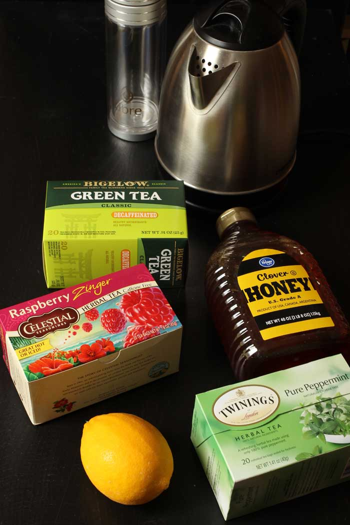 ingredients to make a homemade medicine ball