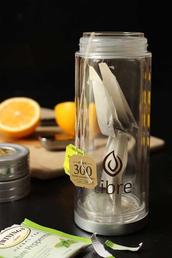 tea infuser to make medicine ball