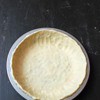 Ditch the Frozen Crust with this Easy Pat in Pan Pie Crust Recipe