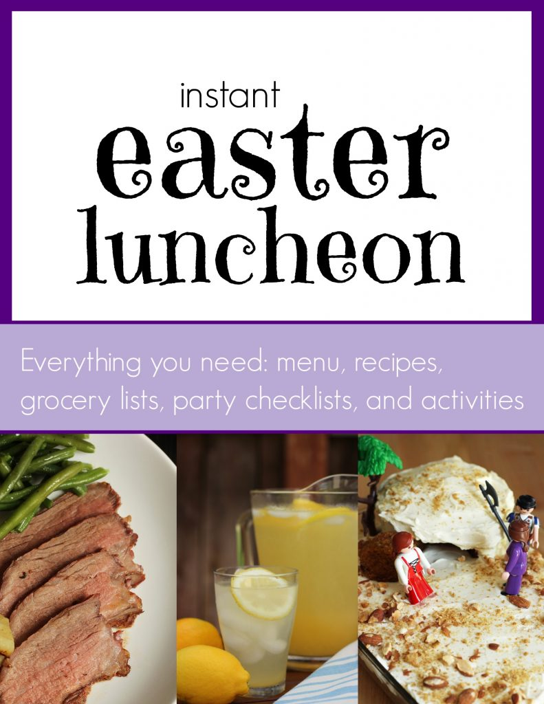 easter luncheon kit