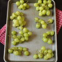 Prepping Grapes for Easy Serving