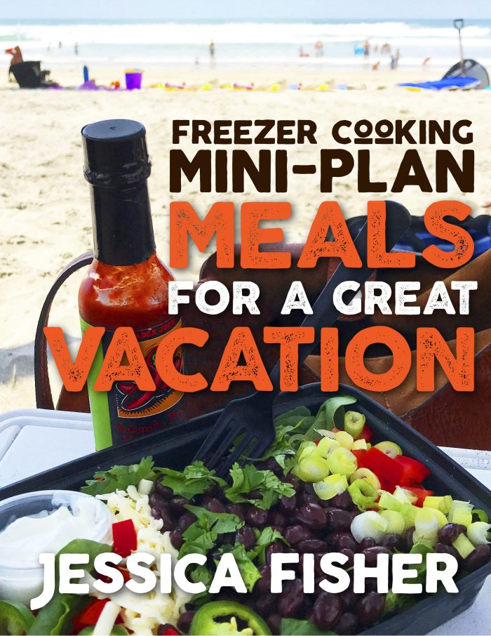 freezer cooking mini plan meals for a great vacation