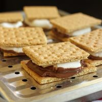 S'Mores made in the oven