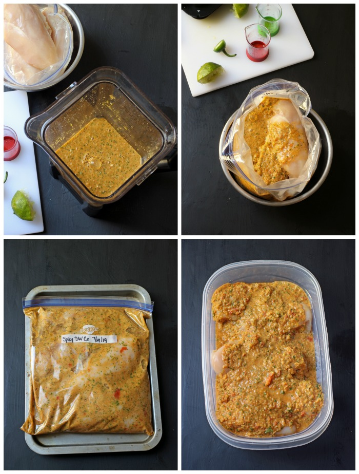 steps for marinating chicken