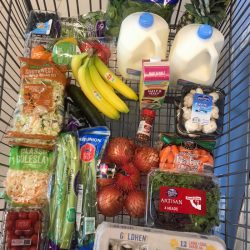 ALDI grocery cart pantry challenge