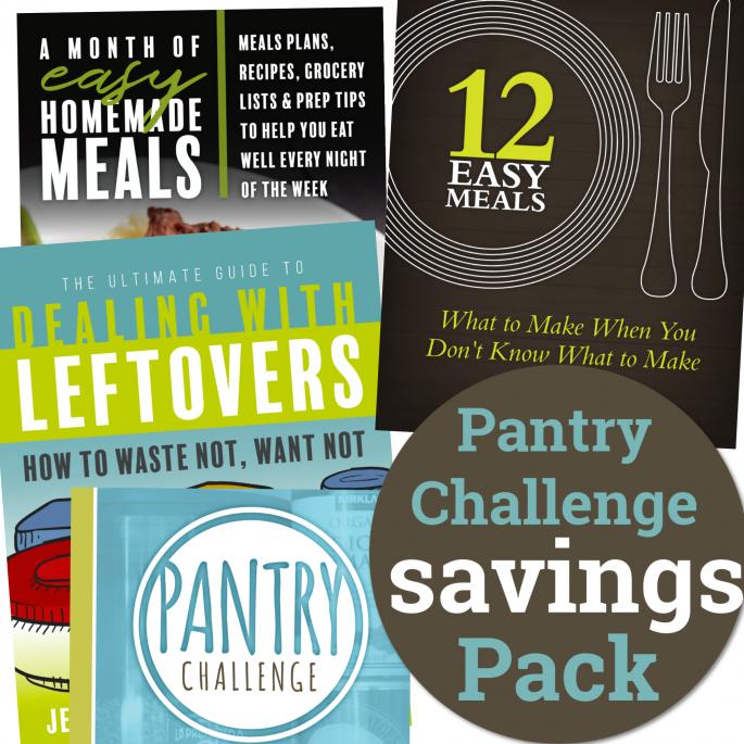 pantry challenge savings pack