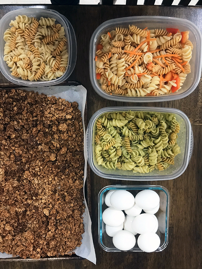 weekend meal prep