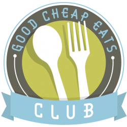 logo for the good cheap eats club