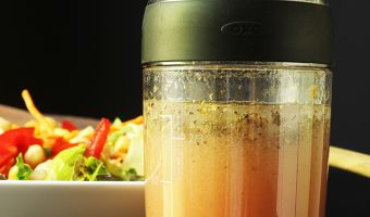 italian salad dressing in cruet