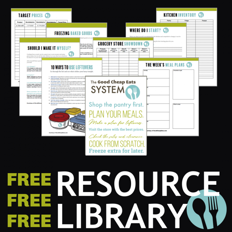 Click to access the free resource library.