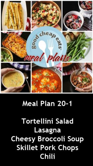 banner ad for 20-1 meal plan