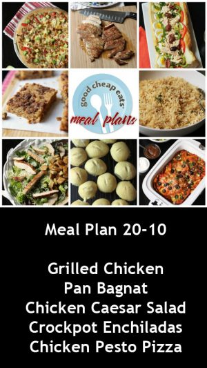 banner ad for 20-10 meal plan