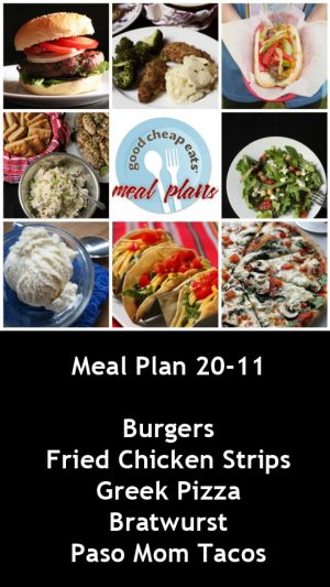 banner ad for 20-11 meal plan