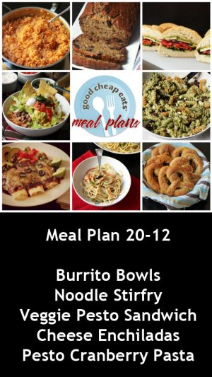 banner ad for 20-12 meal plan