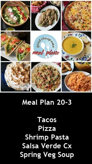 banner ad for 20-3 meal plan