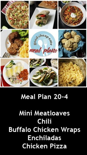 banner ad for 20-4 meal plan