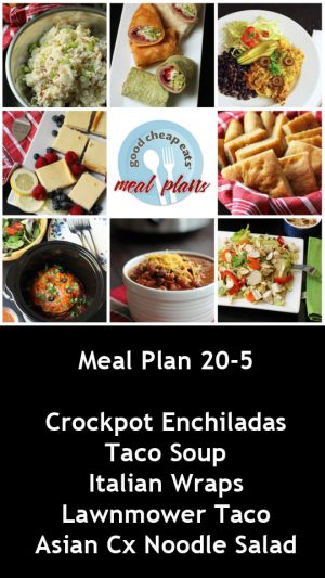 banner ad for 20-5 meal plan