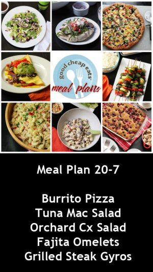 banner ad for 20-7 meal plan