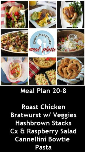 banner ad for 20-8 meal plan