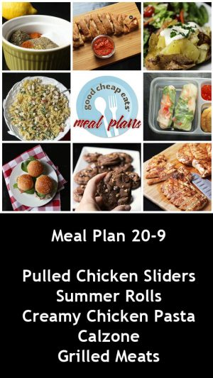 banner ad for 20-9 meal plan