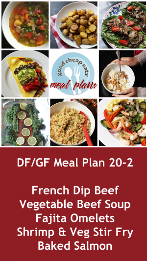 banner for dairy-free gluten-free meal plan #20-2