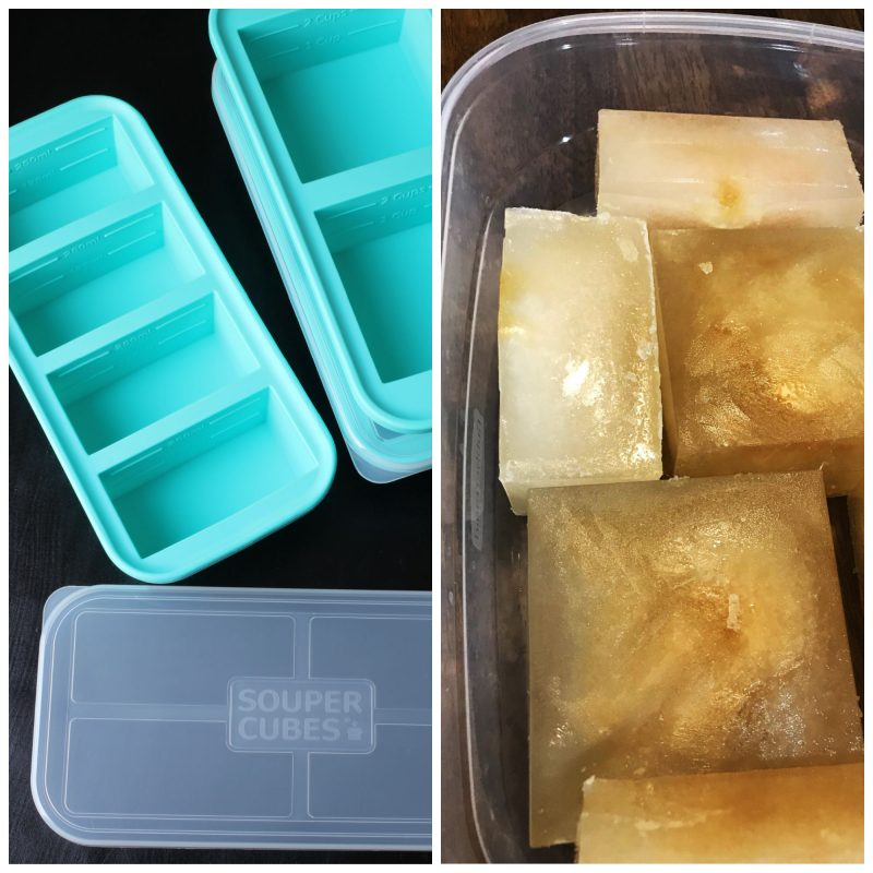 collage of super cubes as well as frozen cubes of stock