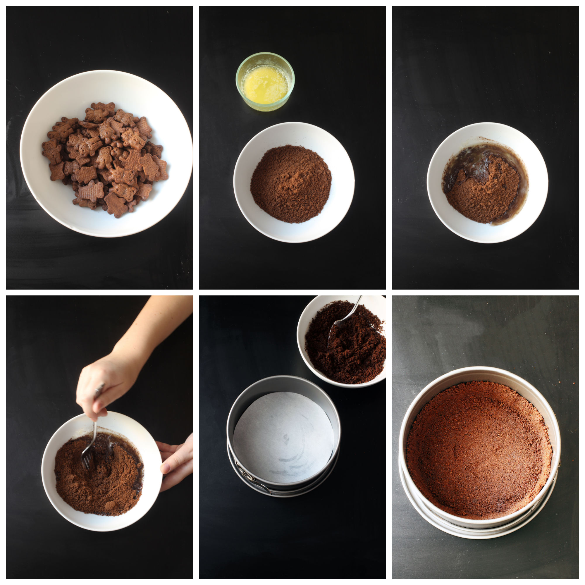 how to make chocolate crumb crust