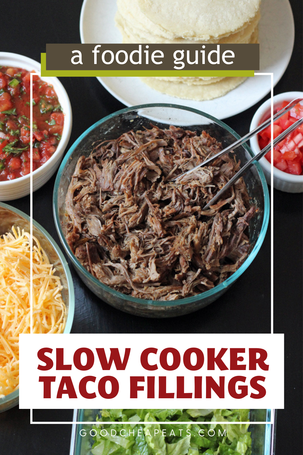 PIN for slow cooker taco fillings