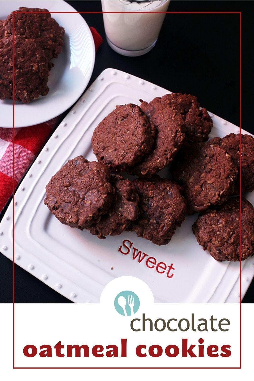 Chocolate Oatmeal Cookies PIN