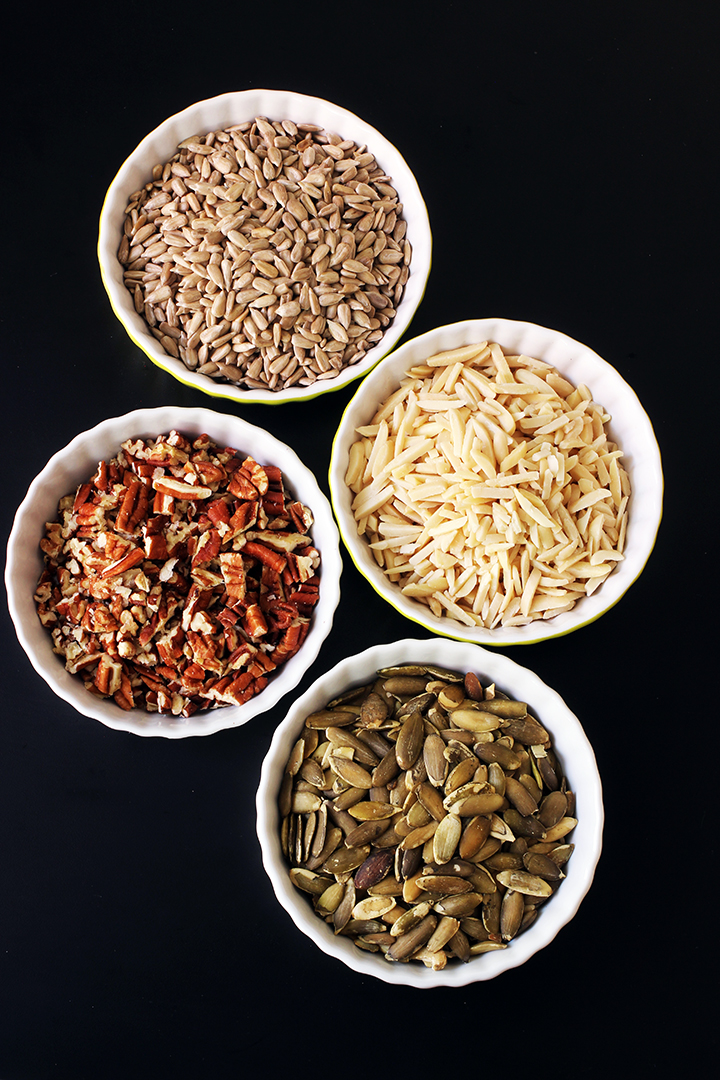 nuts and seeds for magic bars