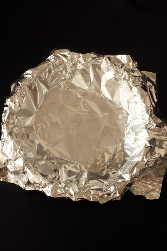 foil lined pie crust