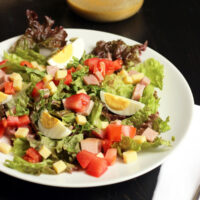salad with hard cooked eggs