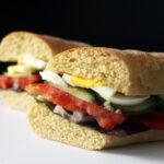 egg plus salad sandwiches
