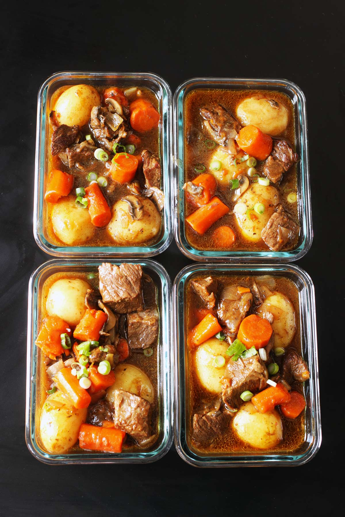 stew in meal prep containers